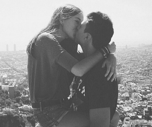 black and white, goals, and couple image