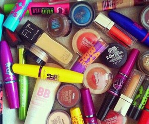 makeup and Maybelline image