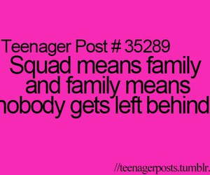squad and family image