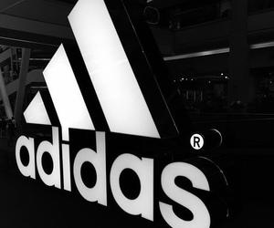 adidas, black, and tumblr image