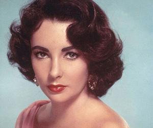 Elizabeth Taylor, old hollywood, and purple image