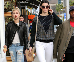 kendall jenner, hailey baldwin, and friends image