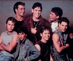 the outsiders, greasers, and movie image