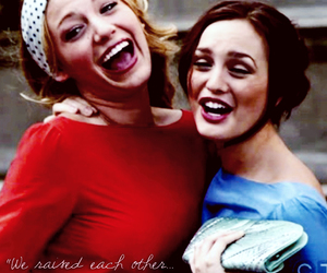 bff, blair and serena, and blake lively image