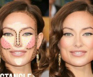 contour, makeup, and makeup tips image