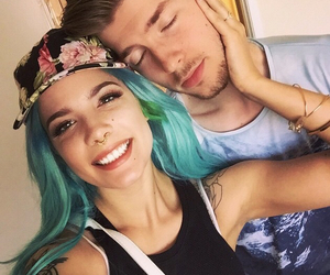 halsey, lido, and couple image