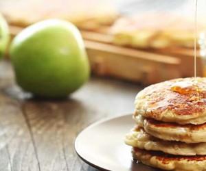 apple, yummy, and hotcakes image
