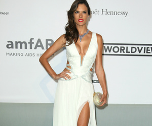 alessandra ambrosio, beautiful, and dress image