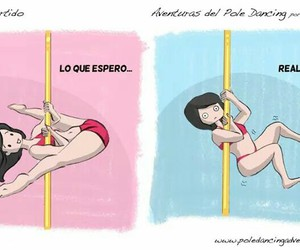 fuerza, pole, and pole dance image