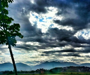 clouds, day, and landscape image