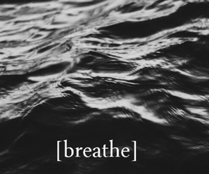 anxiety, ocean, and wallpaper image