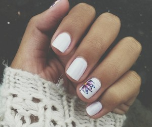 cold, grunge, and nails image
