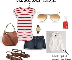 look, outfit, and sandals image