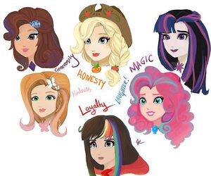 MLP, my little pony, and ever after high image