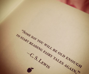 quotes, fairytale, and c.s. lewis image