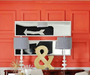 coral, wall, and decor image
