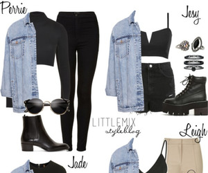 e, little mix, and little mix style image