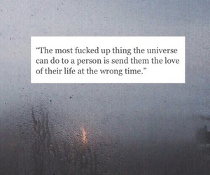 quote, grunge, and rain image