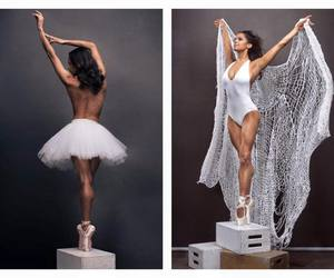 african american, ballet, and beauty image