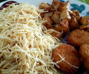 cheese, Chicken, and dinner image