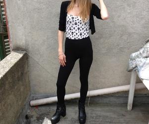 alternative, black, and blonde image