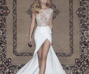 brides, style, and wedding gowns image