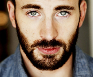 chris evans, boy, and eyes image
