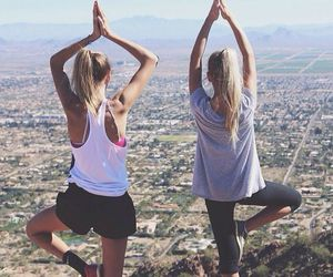 yoga and friends image