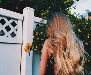backless, blonde, and exotic image