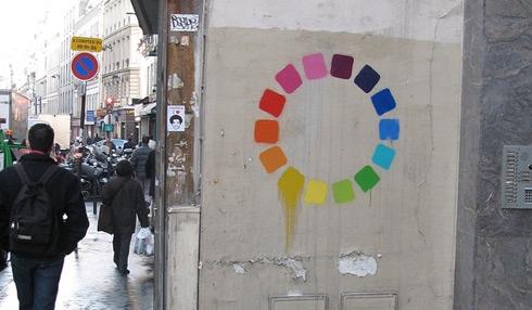 color, wheel, and graffiti image