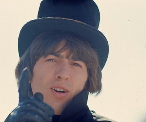60's, beatles, and george harrison image