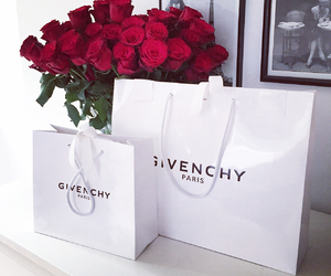 Givenchy and roses image