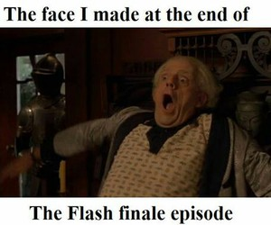 season finale, the flash, and barry allen image