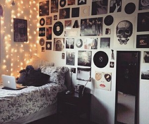 bands, bedroom, and cool image