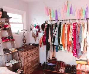 closet, lovely, and cute image