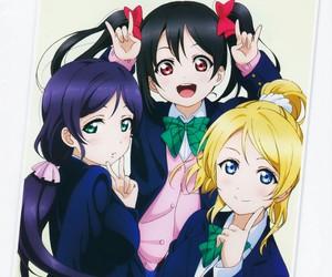 love live! and yazawa nico image