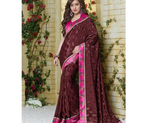 saree, women clothing, and indian clothing image