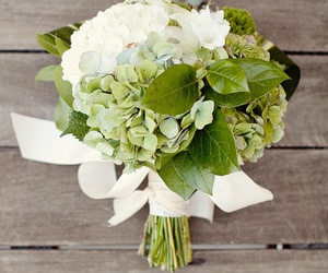 bouquet, flowers, and bride image