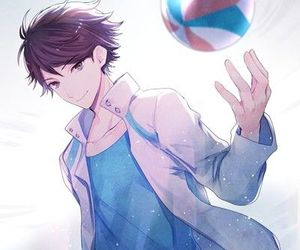 haikyuu, anime, and oikawa tooru image