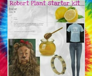 led zeppelin, robert plant, and percy image