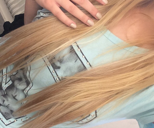 nails, nice, and blond image