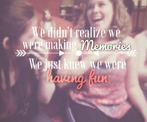 best friend, memories, and quote image