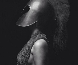 warrior, woman, and photography image