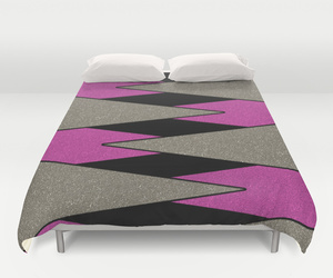 bedding, glitter, and pattern image