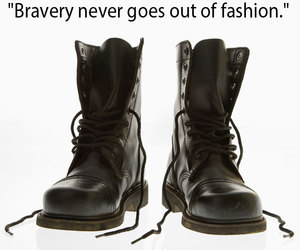 bravery, picture, and quote image