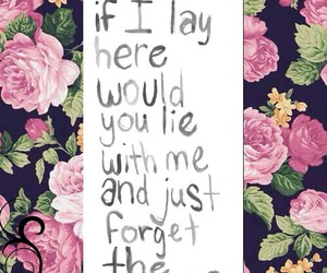 flowers, quote, and picsart image