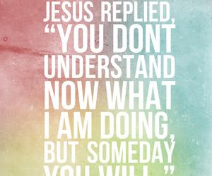 jesus, god, and bible image