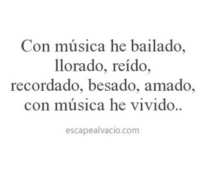 frases, musica, and frases en español image