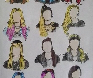 hair and demi lovato image