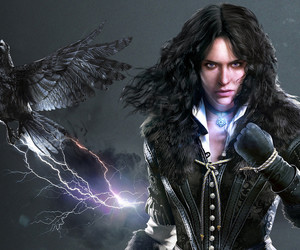 the witcher and yennefer image
